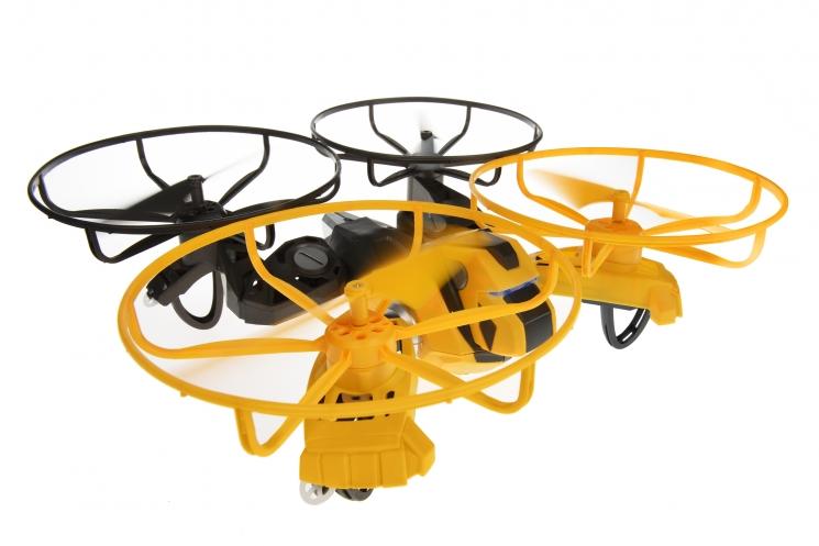 Drone Force Игрушечный дрон трансформер-исследователь Morph-Zilla