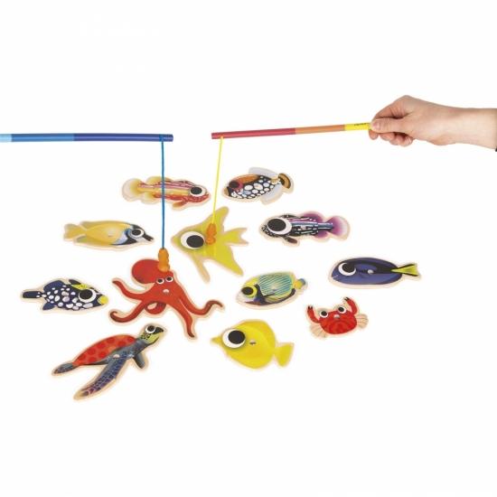 Janod Магнитная рыбалка. Тропики
