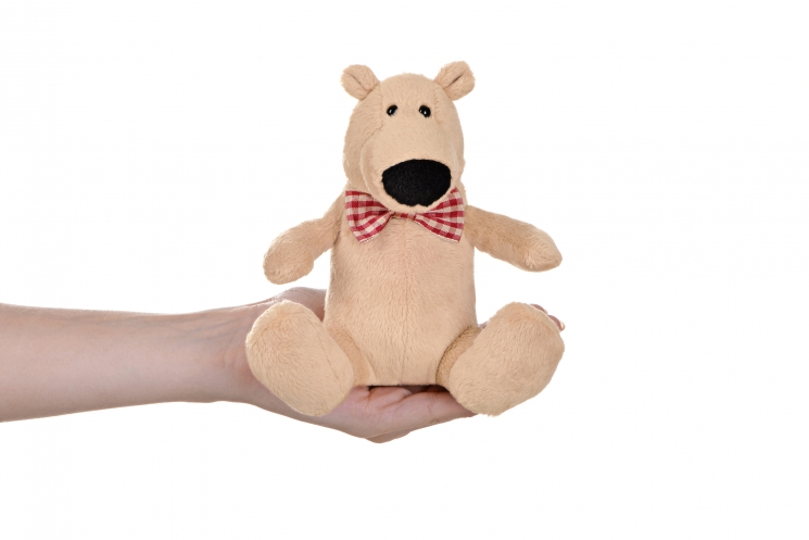 Same Toy Полярный мишка бежевый (13 см)