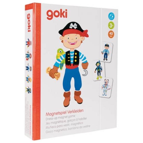 goki Магнитная книга - Наряды для мальчика
