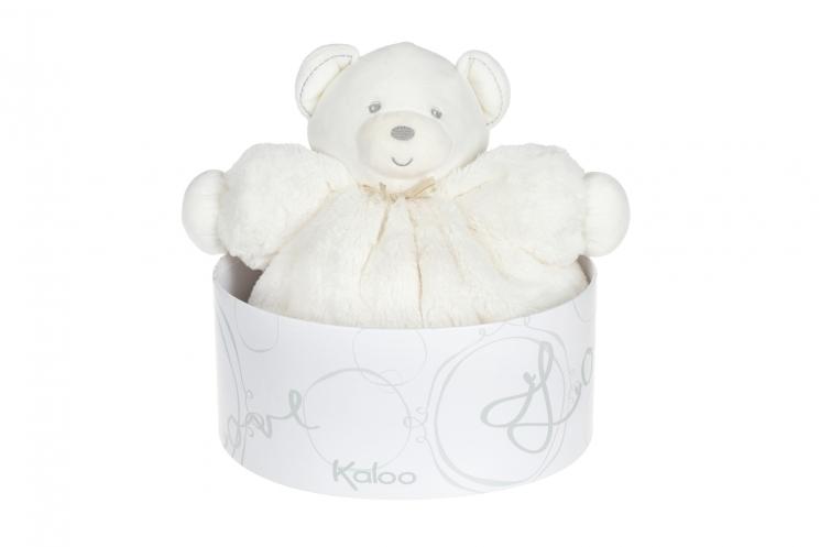 Kaloo Perle Мишка кремовый (30 см) в коробке