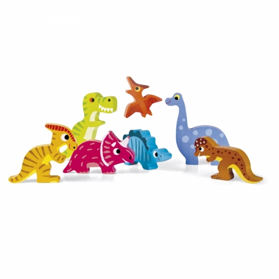 Janod Пазл-вкладыш Динозавры