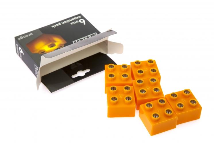 LIGHT STAX Элемент 2х2 Junior с LED подсветкой[Оранжевый]