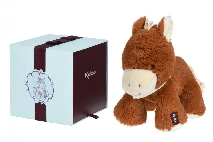 Kaloo Les Amis Лошадка мокко (25 см) в коробке