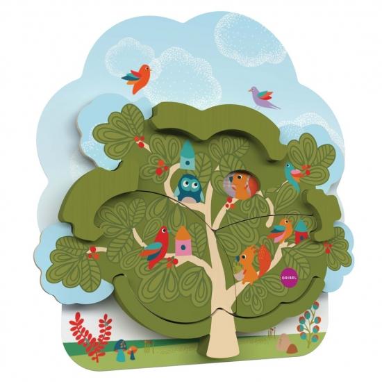 Oribel Настенная игрушка Veritiplay Дом мистера Белки на дереве