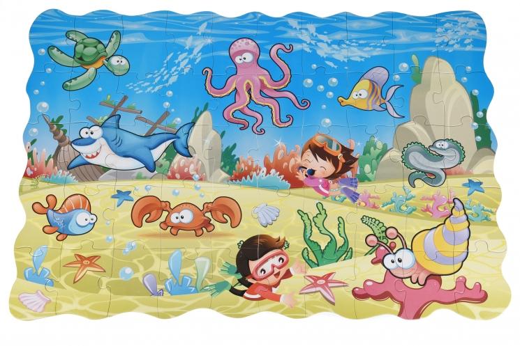Same Toy Пазл-раскраска Подводный мир