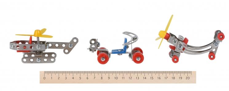 Same Toy Конструктор металлический - 3в1 (117 эл.)