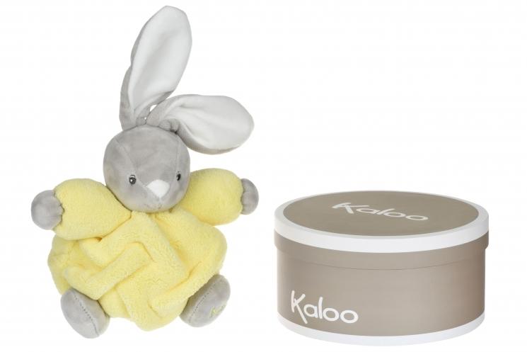 Kaloo Neon Кролик желтый (18.5 см) в коробке