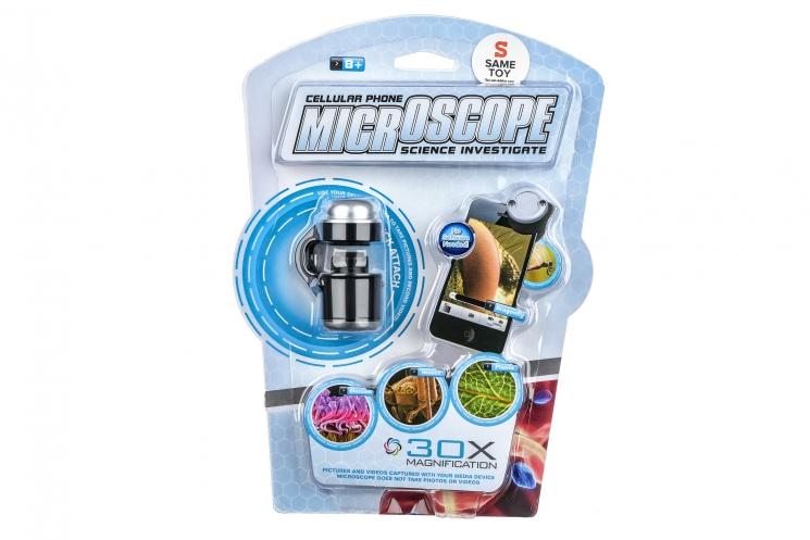 Same Toy Мини микроскоп для телефонов с 30-кратным увеличением