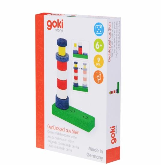 goki Развивающая игра каменная Маяк