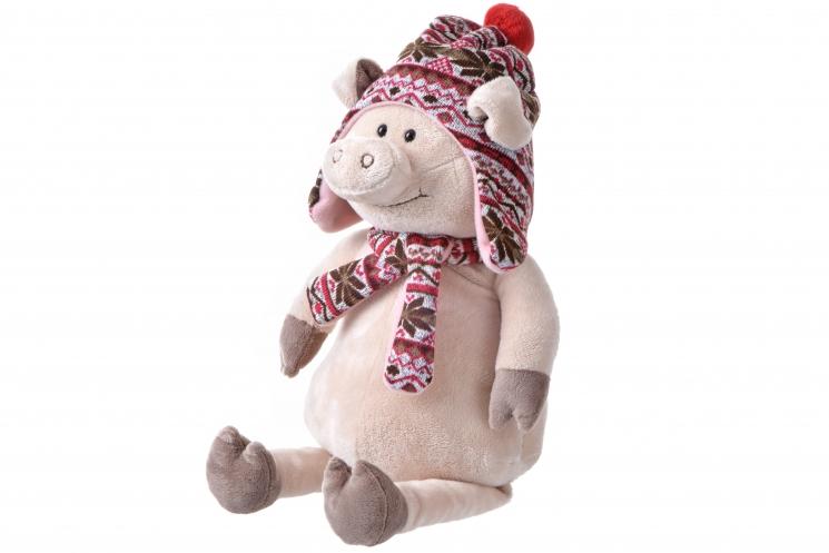 Same Toy Свинка в шапке (48 см)