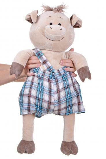 Same Toy Свинка в комбинезоне (60 см)