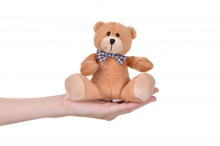 Same Toy Мишка светло-коричневый (13 см)