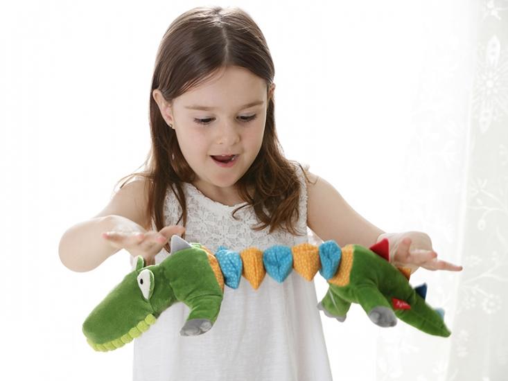 sigikid Крокодил (34 см) с вибрацией