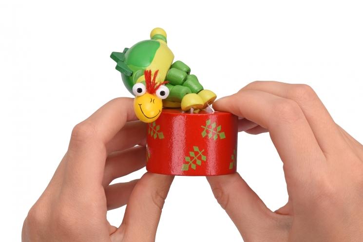 goki Игрушка нажми и тряси - Динозавр