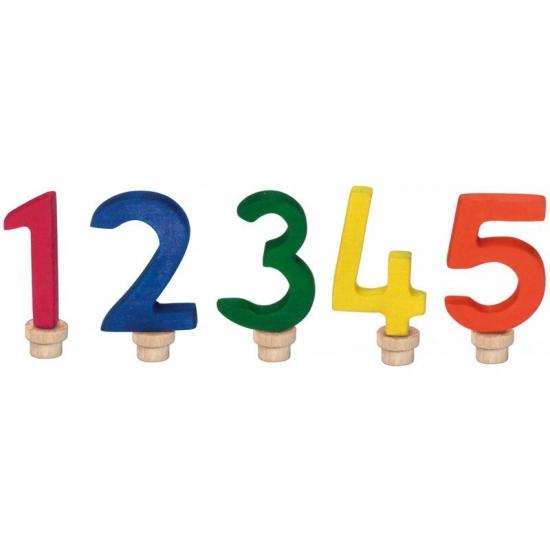 nic Набор цифр для торта 1-5