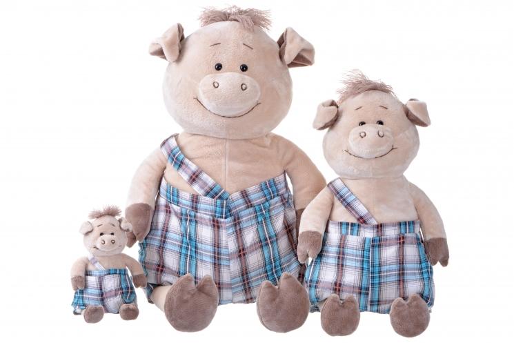 Same Toy Свинка в комбинезоне (18 см)