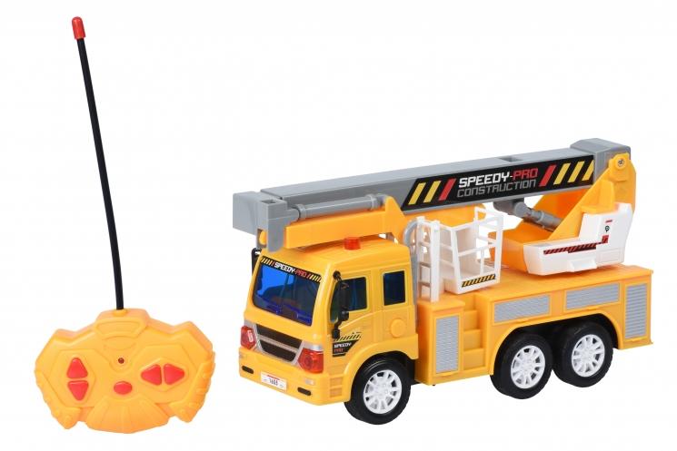 Same Toy Машинка на р/у CITY Кран с корзиной