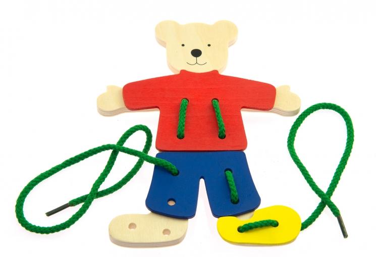 goki Шнуровка Медведь с одеждой