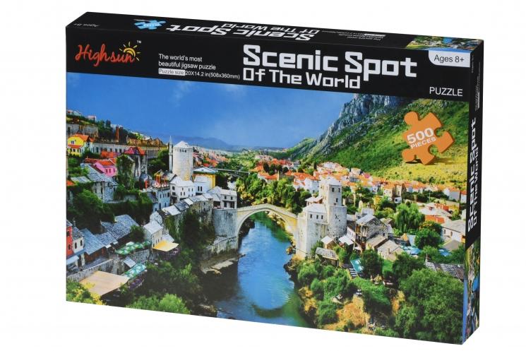 Same Toy Пазл Scenic Spot (500 эл.)