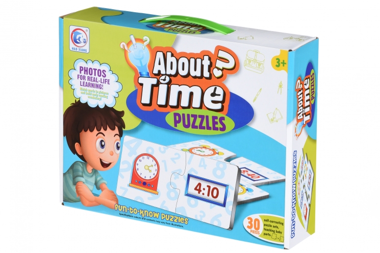 Same Toy Пазл Время