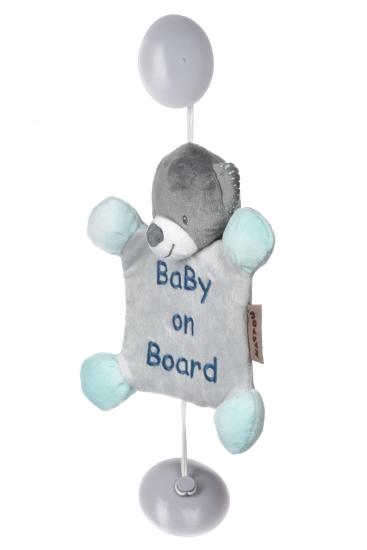 Nattou Ребенок на борту на присосках  Мишка Юлий
