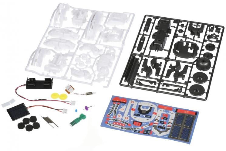Same Toy Робот-конструктор - Космический флот 7 в 1 на солнечной батарее