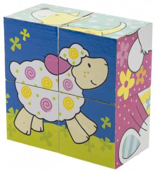 goki Кубики деревянные Мои друзья Susibelle