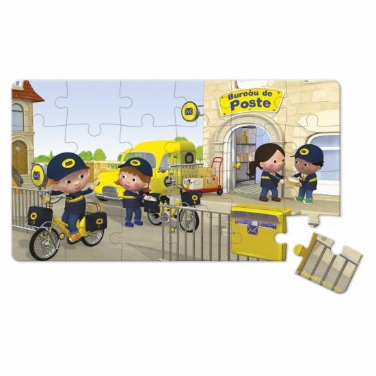 Janod Набор из 2 пазлов Велосипед Метта