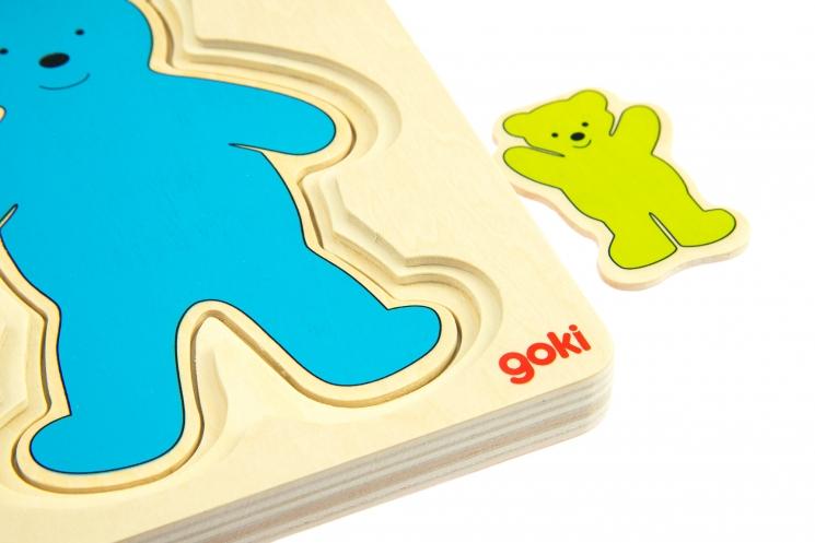 goki Развивающая игра Разноцветные мишки