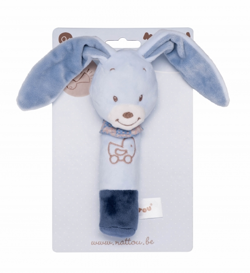 Nattou Погремушка шуршащая кролик Бибу