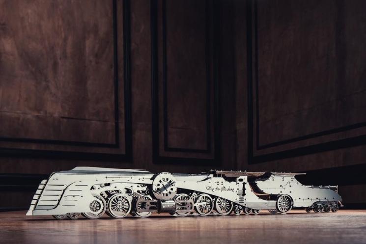 Time for Machine Конструктор коллекционная модель Dazzling Steamliner