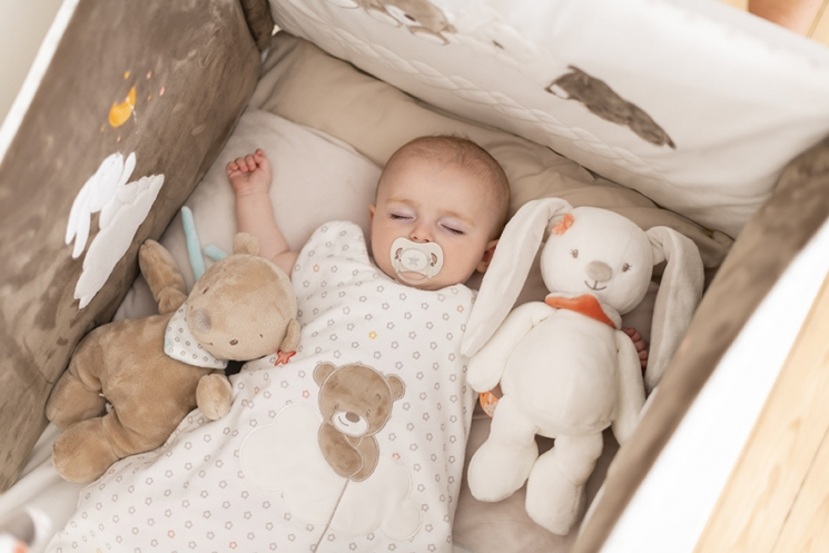 Nattou Набор мягких игрушек Мия и Базиль