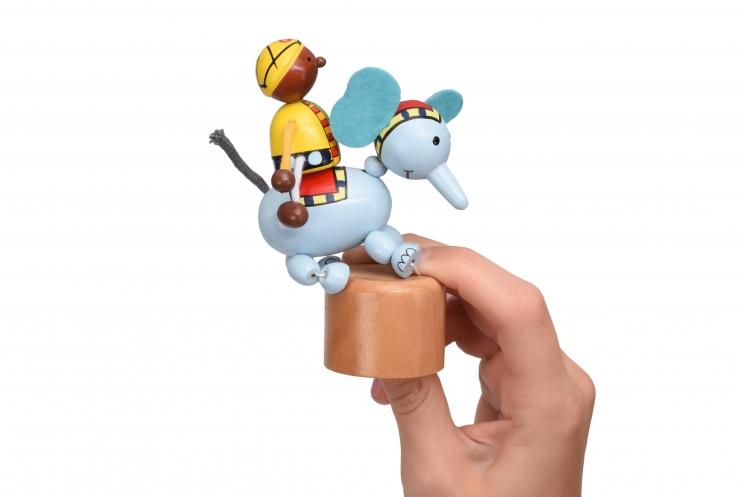 goki Игрушка нажми и тряси - Слоник