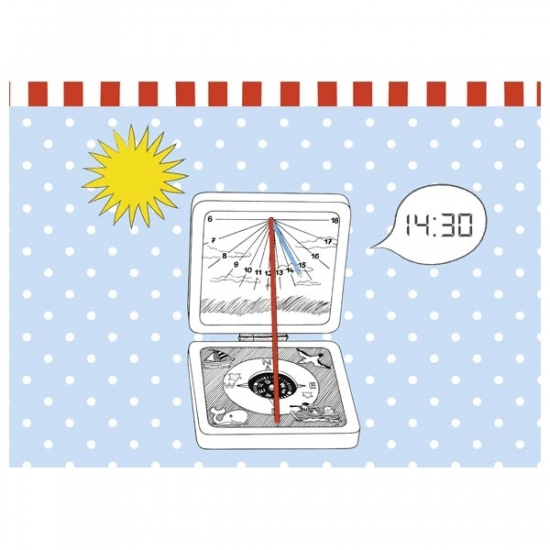 goki Карманные солнечные часы Peggy Diggledey