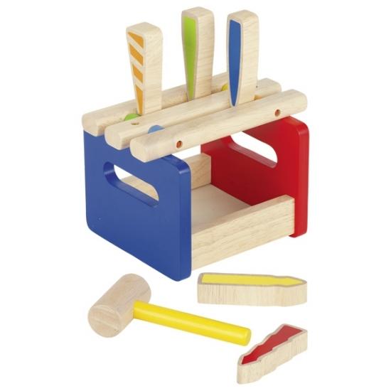 goki Развивающая игра Скамейка с молоточком