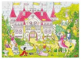 goki Деревянный пазл Фантастический дворец