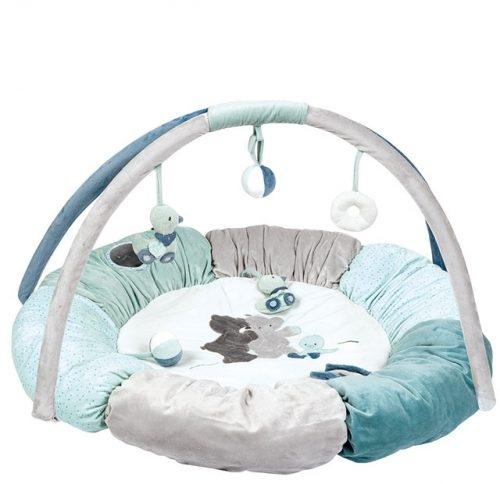 Nattou Развивающий коврик с дугами и подушками Джек, Юлий и Нестор