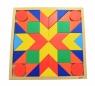 goki Конструктор деревянный Танграм