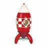 Janod Конструктор магнитный - Ракета (32 см)