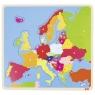 goki Деревянный пазл Европа