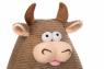 Same Toy Корова/Бык (коричневый) 16см