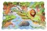 Same Toy Пазл-раскраска Мир животных