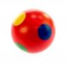 nic cubio Шарик деревянный в точечку (красный)