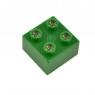 LIGHT STAX Элемент 2х2 Junior с LED подсветкой[Зеленый]