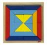 goki Деревянный пазл Мир форм - треугольники