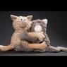 sigikid Beasts Кошки объятия (13 см)
