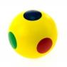 nic cubio Шарик деревянный в точечку (желтый)