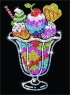 Sequin Art Набор для творчества BLUE Ice Cream Sundae