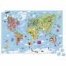 Janod Пазл Карта мира